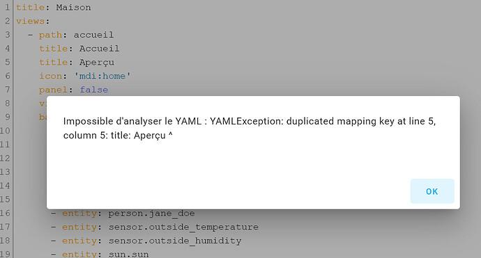 Editeur de code YAML
