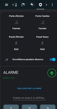 8 - Alarme