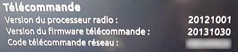 code-telecommande