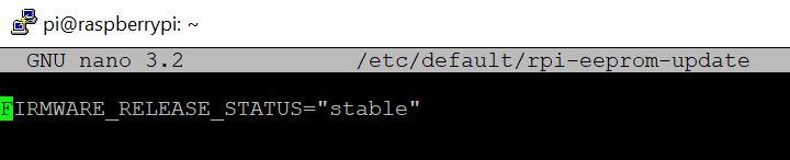 bootloader stable