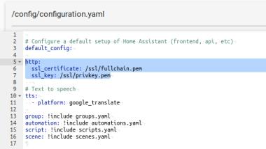 Ajout Configuration Lets Encrypt
