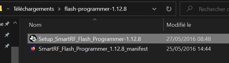 Setup_SmartRF_Flash_Programmer