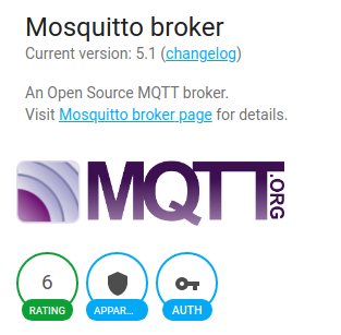 Add-on Mosquitto Broker